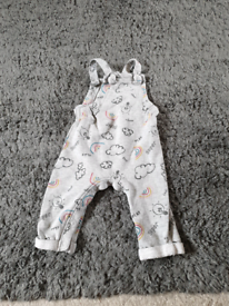 Marks and Spencers Dungarees 6-9 months