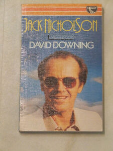 1984 book: Jack Nicholson, a Biography -- by David Downing