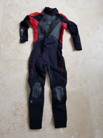 Kids XL wetsuit with a rip