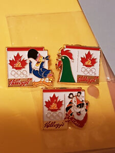 1996 OLYMPICS PINS - NEW IN ORIGINAL BAGS ($9 for set)