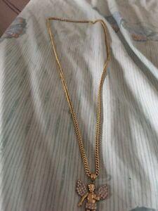 Gold chain/pendant