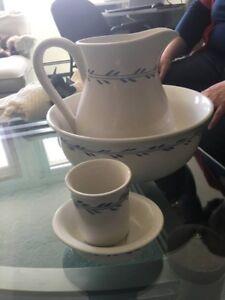 4 Piece Set - Porcelain