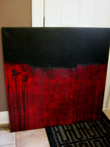 Modern Abstract Canvas painting London Ontario image 4