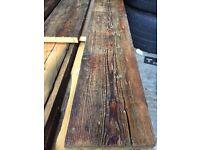 Reclaimed oiled Pine flooring