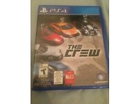 PS4 game (THE CREW)