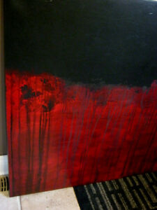 Modern Abstract Canvas painting London Ontario image 2