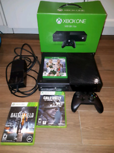 XBOX One 500gb bundle with 3 games