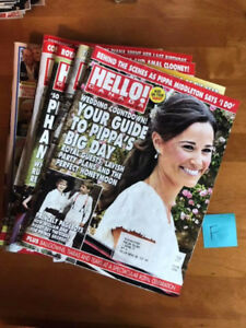 Hello Magazine Lot Of 17 Issues June To Oct 2017 Royals Clooney
