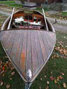 1953 Courtney Craft Lapstrake Boat - a classic