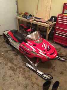 2003 Pro X 800 CHASSIS NO ENGINE