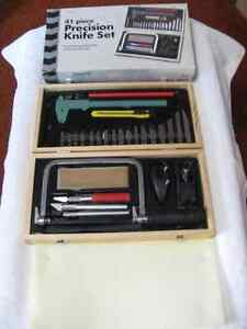 41 Piece Precision Knife Carving Set – In Excellent Condition