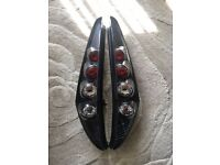 Fiat Punto Black Tail Lights