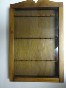 Spoon Wall Cabinet Display Case