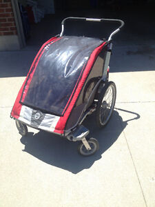 Chariot Cougar double stroller
