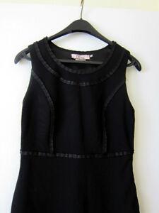 Brand New DS Dress Black Work Wear Dress - Size S/M