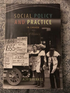 Social Policy and Practice In Canada - A History