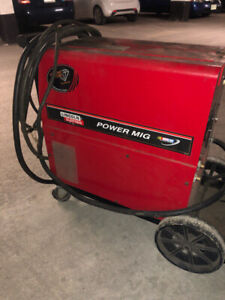 Lincoln electric power mig welder