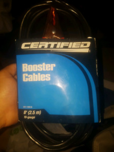 Booster cables New