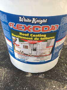 White knight roof coating 18L