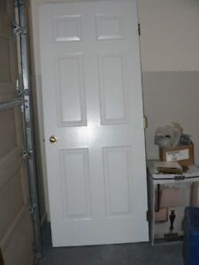 Assorted interior doors