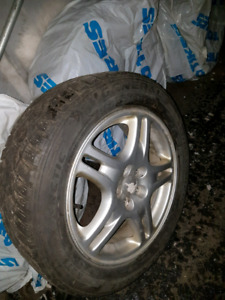 4 tires with mags General Altimax Arctic 205/55/16