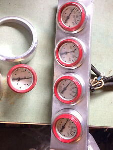Stewart Warner gauges and mounts