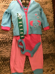 NEW Fisher Price baby girls outfit 18 months London Ontario image 1