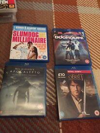 Blu Rays DVDs