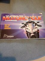 Motorcycle hand book