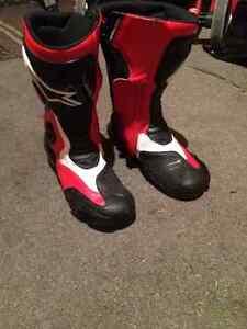 Street bike boots