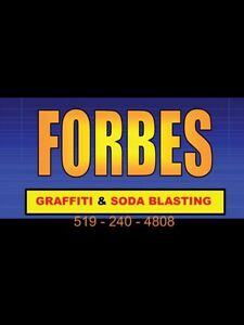 Media/Soda Blasting.  Forbes Mobile Wash. forbesmobilewash.com Cambridge Kitchener Area image 1