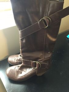 Leather Boots Size 9/10