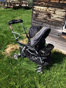 Sit-n-stand LX double stroller