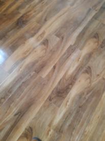 Mid oak laminate flooring
