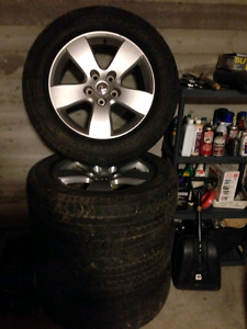 20'' Factory Dodge Ram Rims with Tires