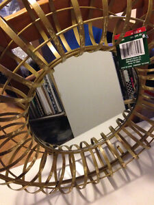 Make your Own Wreath or centrepiece  - Mirror inside