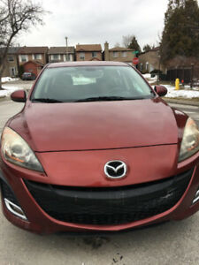 2010 Mazda Mazda3 GS 2.5 Lit First Owner NO accident REDUCED