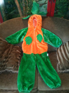 Toddler size M high quality pumpkin costume