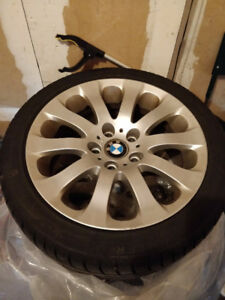BMW 17 Inch OEM Rims (Tires; 225/45/r17)