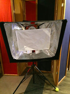 Photoflex Pod lights for camera