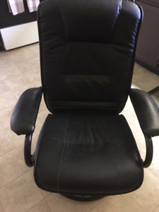 Leather-Feel Chair