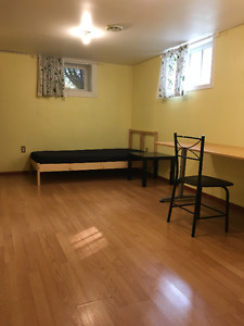 BASEMENT ROOM WITHIN WALKING DISTANCE TO UOFA AND HOSPITAL