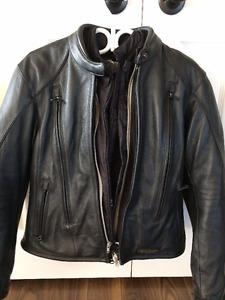 LADIES Harley Davidson Womens FXRG Leather Motorcycle Jacket
