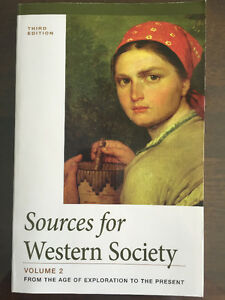 John Abbott CEGEP - Sources for Western Society Volume 1 & 2 West Island Greater Montréal image 3
