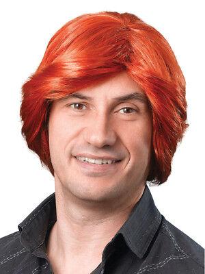 Adult Mens Ginger Tony Pop Star Groovy Disco Austin Powers Wig Fancy Dress New](Austin Powers Wig)