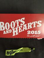 Boots and Hearts Weekend passes and campsite.