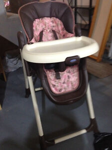 Car seat and highchair