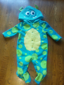 NWOT 0-3m monster outfit