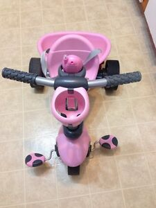Pink smart trike bike