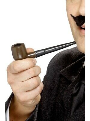 Sherlock Holmes Pfeife zum Kostüm Detektivpfeife